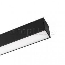Светильник MAG-FLAT-45-L405-12W Warm3000 (BK, 100 deg, 24V)