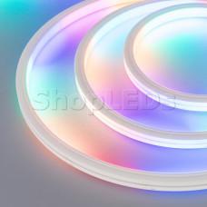 Герметичная лента DMX MOONLIGHT-5000S-TOP-5060-84-24V RGB (13х12mm, 18W, IP67)