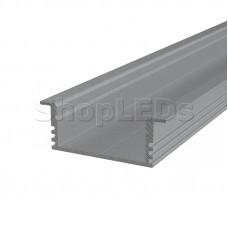 Профиль врезной алюминиевый 3412-2 2 м REXANT