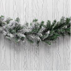 Заснеженный еловый шлейф NEON-NIGHT 2.7 м,  26 см, ПВХ