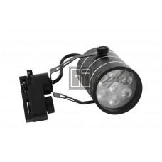 Светодиодный светильник SPOT для трека 7W ЧЁРНЫЙ Warm White